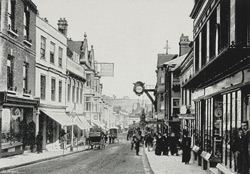 Winchester High Street, Warren & Son, 1900